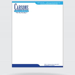 Letterhead-Design Carsons 1000x900