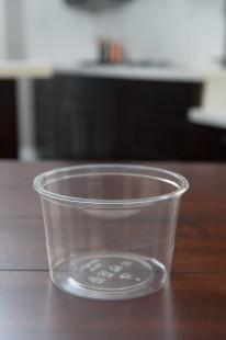16 oz PP Round Deli Container (4.6X3.0x3.45)