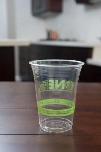 16 oz Clear PLA Cups - Eco Friendly Generic Print