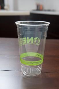 24 oz Clear PLA Cups - Eco Friendly Generic Print